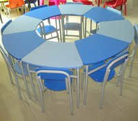 Adjustable School Furniture Desk and Chair