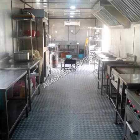 SS Kitchen Bunkhouse