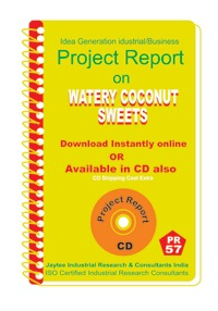 Project Report on Watery Coconut Sweets