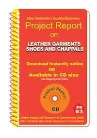 Project Report On Leather Garments Shoes,Chappals