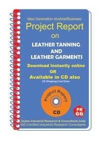 Project Report On Leather Tanning,Leather Garments