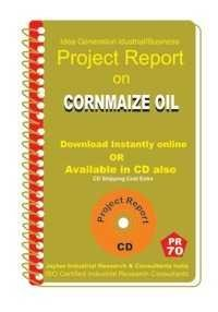 Project Report on Corn Maize Oil