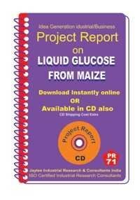 Project Report on Liquid Glucose From Maize