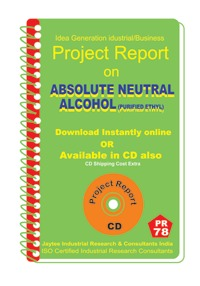 Project Report On Absolute Neutral Alcohol