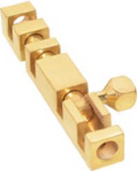 Brass Square Tower Bolts
