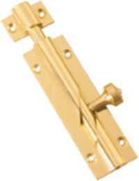 Brass Tower Bolt With Crossknob