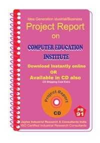 Project Report On Computer Education Institute