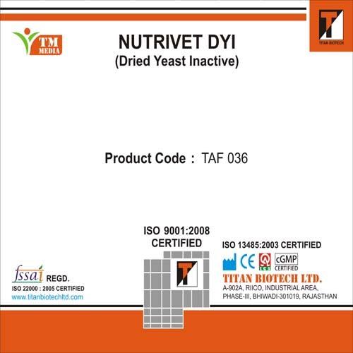 Nutrivet- Dried Yeast Inactive