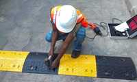 rubberised speed breakers