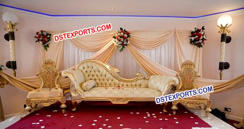 Best Muslim Wedding Carved Furniture