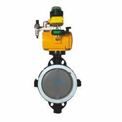 PTFE Lined On-Off Butterfly Valves