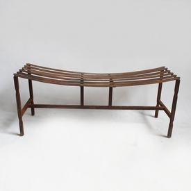 Iron Hammered Bench