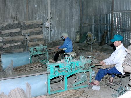 Machine Made Bamboo Sticks