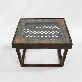 Vintage Window Side Table
