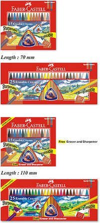 Faber Castell Erasable Crayons