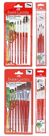 Faber Castell Paint Brushes