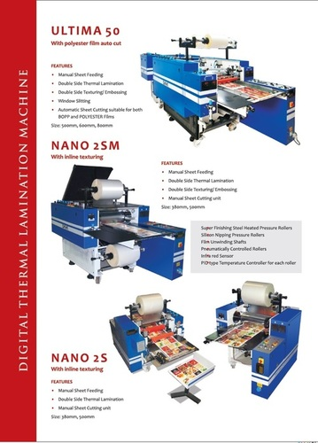 Double Side Digital Thermal Laminator