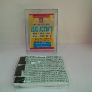 LEAD ACETATE INDICATOR PAPERS