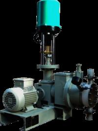Hydraulic Diapharm Pump