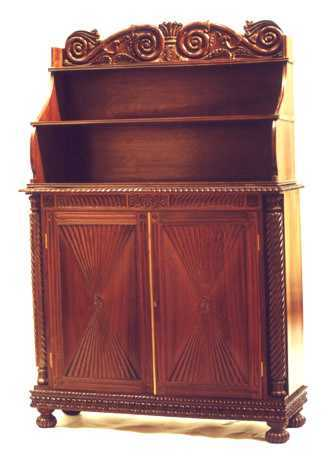 Brown Rosewood Chiffonier