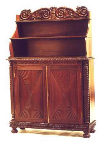 Brown Rosewood Chiffonier