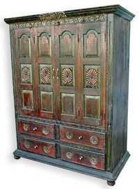 Antique Wooden Bookcase