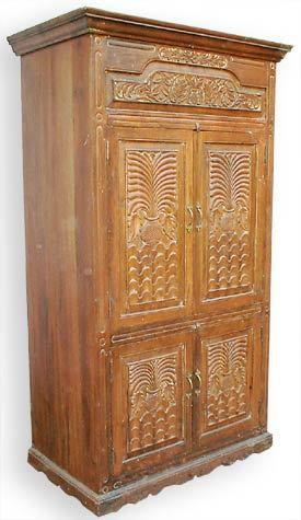 Handmade Wooden Antique Cabinets