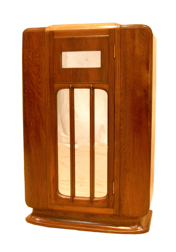 Brown Art Deco Cabinet