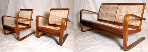 ART DECO SEATING SET