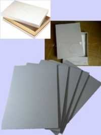 Bookcover Grey Board