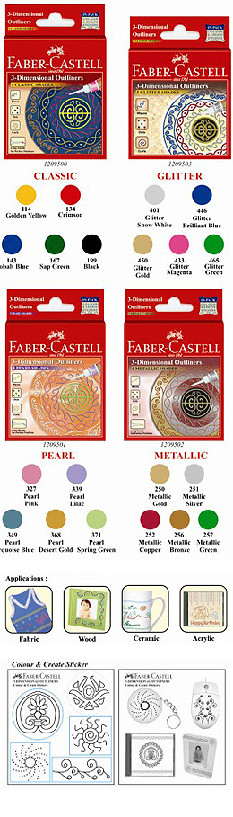 Faber - Castell 3 Dimensional Outliners