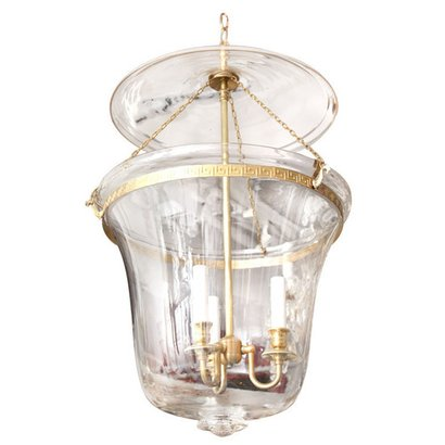 White Glass Antique Hanging Lamp