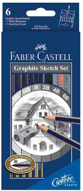 Faber - Castell  Gold Faber Sketch Set