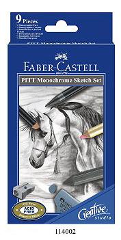 Faber - Castell Pitt Monochrome Sketch Set