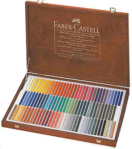 Faber - Castell Polychromos Artists' Pastel Crayons