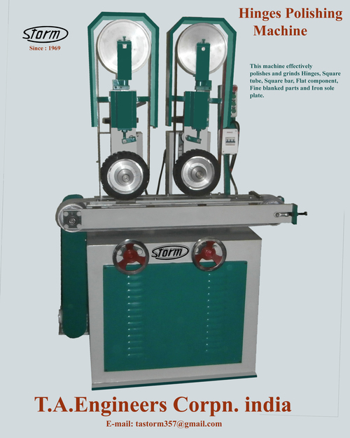 Hinges Polishing Machine