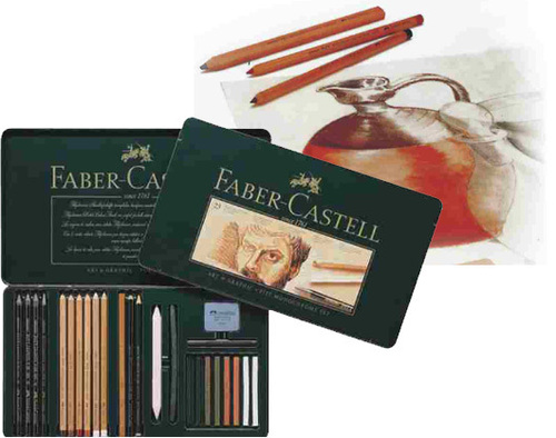 Faber - Castell Pitt Monochrome artists' Pencils & Crayons