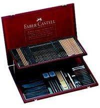 Faber Castell Pitt Artist Wooden Case