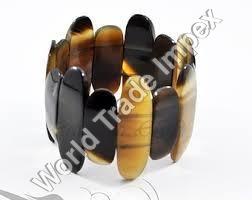 Hand Carved Horn Bracelet