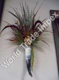Horn Flower Stand