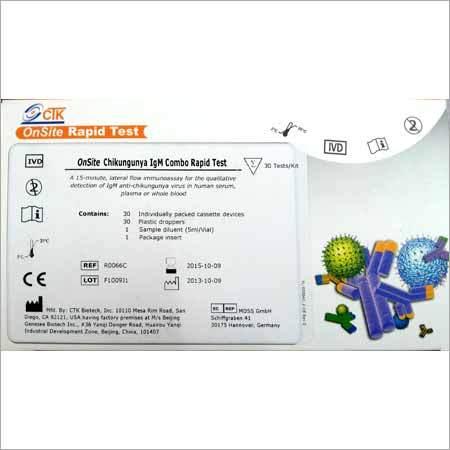 Chikungunya Rapid Test Kit