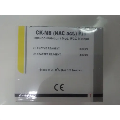 CK MB Serology Latex Test Kit