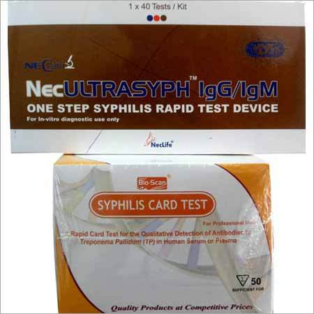 Syphilis Test Strips