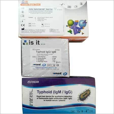 Typhoid Rapid Test Kits