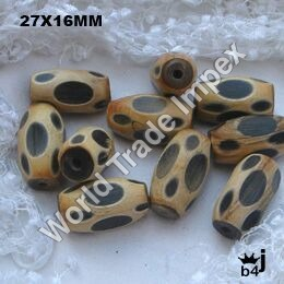 Horn, Bone and Resin Beads