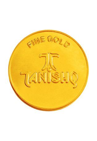 Tanishq Gold Coin