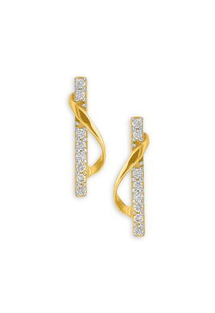 Tanishq Gold Earring