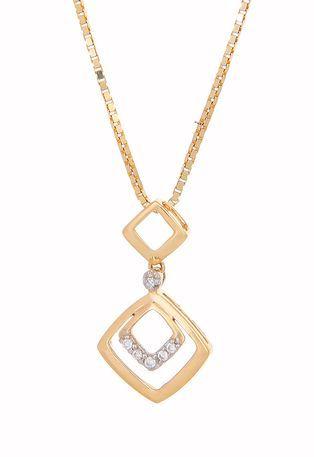 Tanishq Gold Pendant