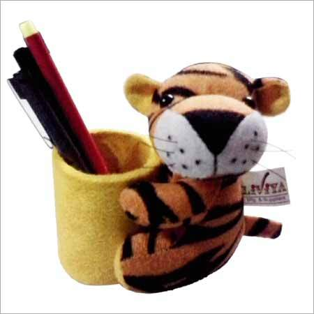 Tiger Pen Stand Small