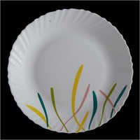 Opal Glass Crockery Plates